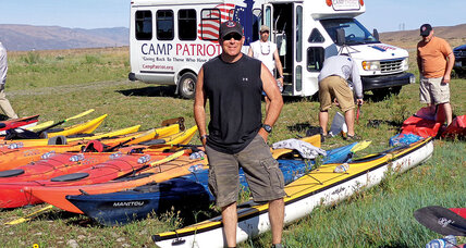 Micah Clark offers injured vets an outdoor challenge – and new friendships
