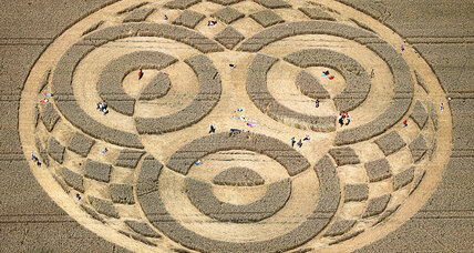 Germany crop circles: Who made them?