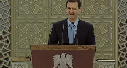Syria's President Assad says the Arab Spring is dead