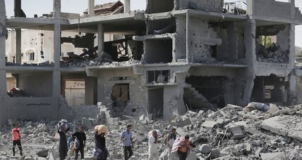Amid cease-fire, Gaza residents head home to find widespread destruction