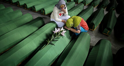 From the Monitor archives: a 'chilling picture' of Srebrenica massacre