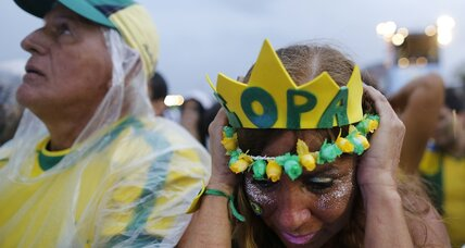 Why some Brazilians see a silver lining in epic World Cup loss