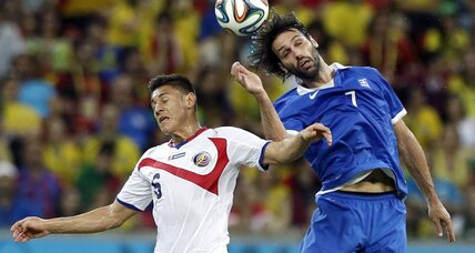 Small Costa Rica gives troubled Central America big boost at World Cup