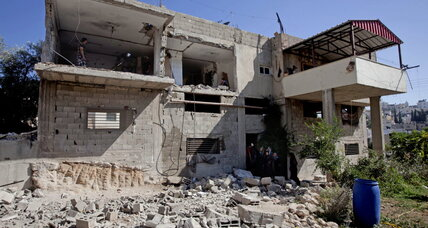Why Israel's army just demolished half of this house
