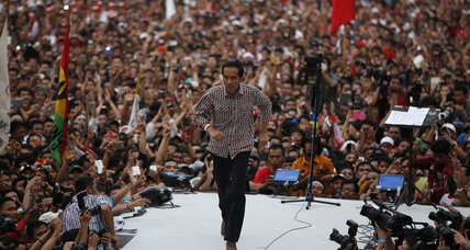 Indonesia's choice: the charismatic reformer or the military nationalist (+video)