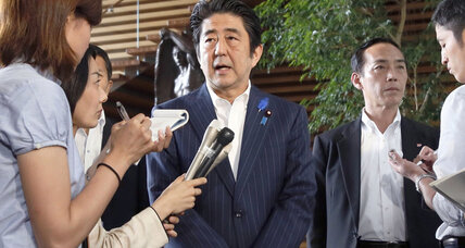 High stakes as Japan's Abe eases sanctions over N. Korea abductions