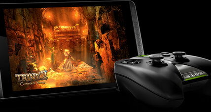 Nvidia boasts its Shield tablet is the 'perfect device for gamers'