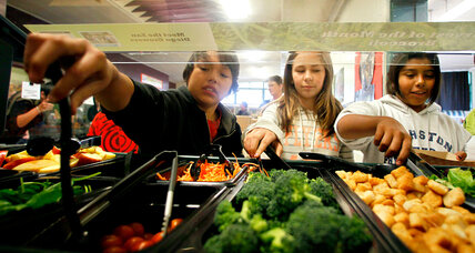 'Cafeteria Man' champions fresh foods in schools