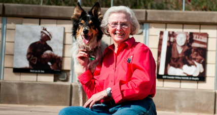 Wilma Melville turns rescued dogs into rescuers