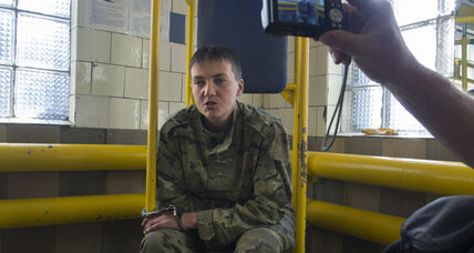 How did a female Ukrainian pilot end up in a Russian prison?