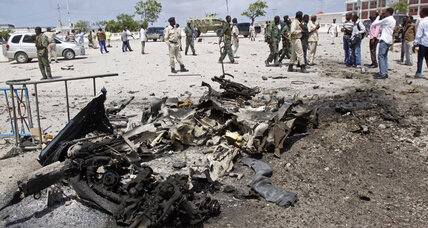Car bomb kills four in Mogadishu