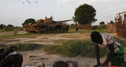 In South Sudan, strife looms in few peaceful places left (+video)