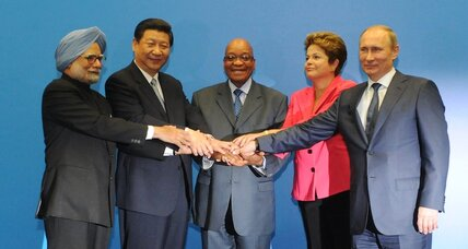 The BRICS's new aid bank