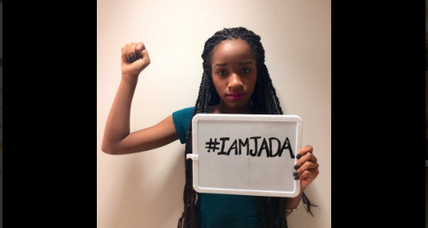 Support for #iamjada builds as assault case unfolds online