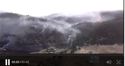 Raging wildfire forces evacuation of 200 Napa County homes