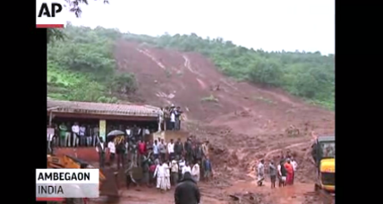 At least 18 killed when landslide sweeps through Indian village
