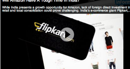 Flipkart raises $1 billion. Competitor Amazon ups its game in India.