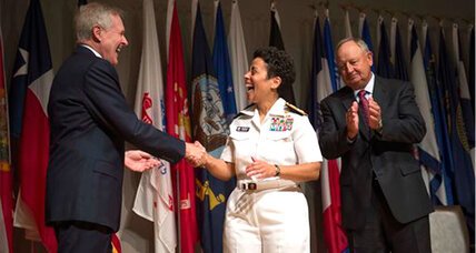 Female four-star admiral: Adm. Michelle Janine Howard makes Navy history