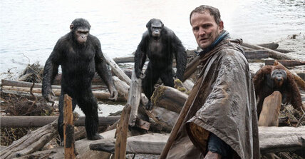 'Dawn of the Planet of the Apes' is a thinking person's fantasy film