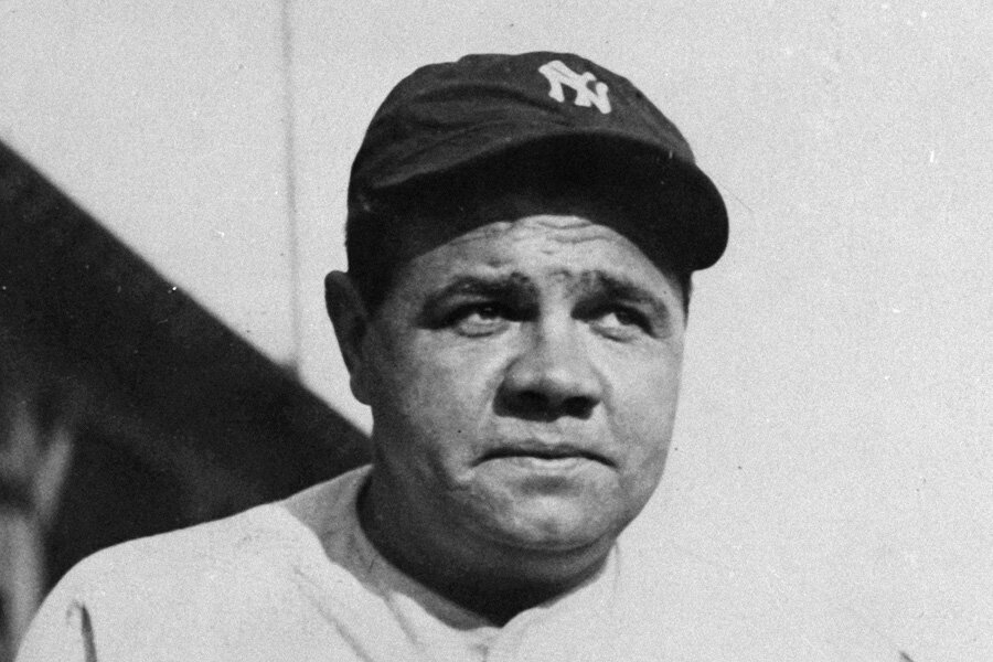 Why was babe ruth called babe-8059