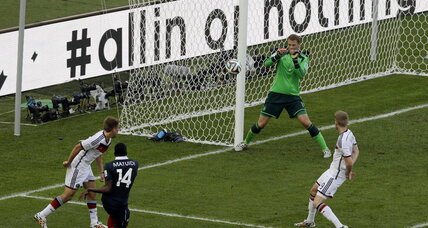 World Cup: Germany defeats France 1-0 to advance to semifinals