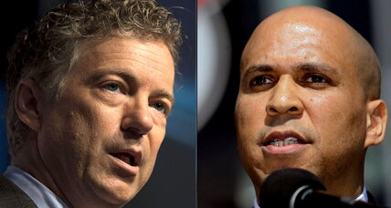 Rand Paul-Cory Booker bromance: how two political opposites attracted (+video)
