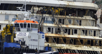 Costa Concordia refloating complete, heading soon to scrap heap (+video)