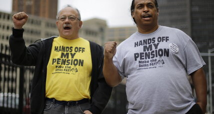 Detroit bankruptcy: Pensioners clear plan, creditors erect new hurdle (+video)