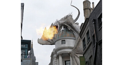 J.K. Rowling pens a new 'Harry Potter' story and 'Potter' theme park opens (+video)