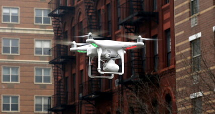 Are civilian drones safe? New York police report a close encounter. (+video)