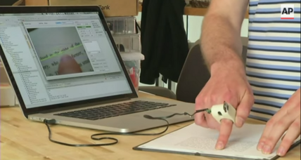 Prototype 'FingerReader' device allows the blind to 'read' printed text