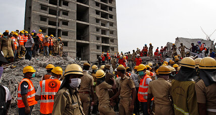 After building collapse in India, survivors found days later