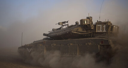 Israel begins ground offensive in Gaza, following rocket exchanges and cease-fire