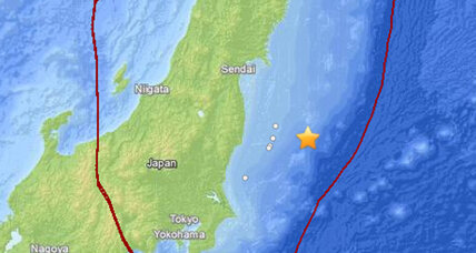 Magnitude 6.8 earthquake causes small tsunami on Japanese coast
