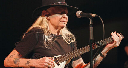 Johnny Winter, legendary blues guitarist, dies