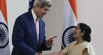 John Kerry's passage to India. Why is he going now?