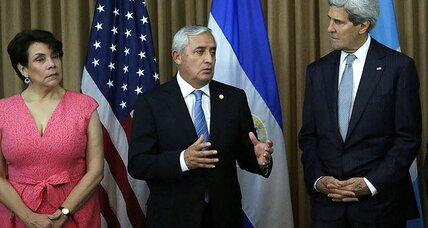 Border crisis: Kerry asks Central America to help combat 'false information' (+video)