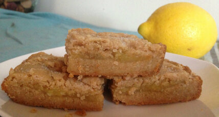 Coconut oil lemon bars