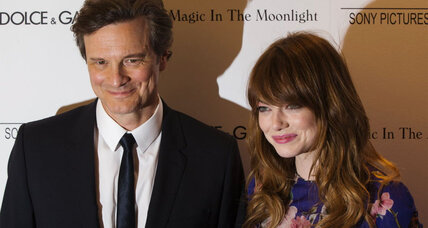 Emma Stone and Colin Firth star in the new Woody Allen film 'Magic in the Moonlight'