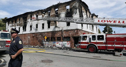Seven perish in Mass. apartment building blaze