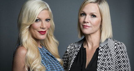 Jennie Garth and Tori Spelling of 'Beverly Hills, 90210' reunite for ABC Family show 'Mystery Girls'