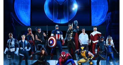 Marvel heroes take their 'powers' to live stage show