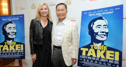 'Star Trek' actor Takei shakes up perceptions for parents and kids