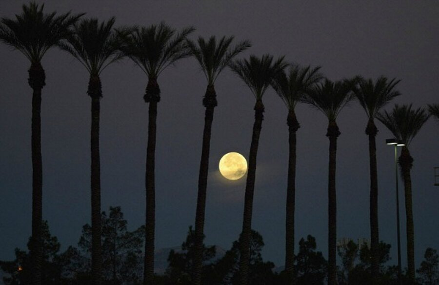 Why tonight's supermoon is called a 'Full Buck Moon