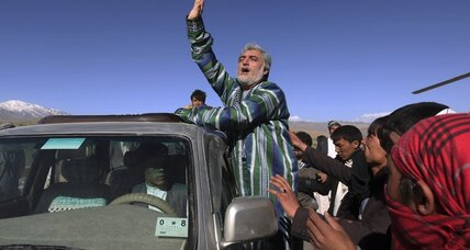 Afghan presidential candidate unswayed by electoral fraud investigation