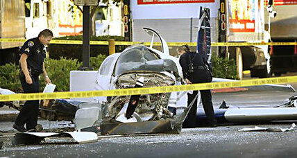 San Diego parking lot plane crash: Bystanders rescue pilot, passenger