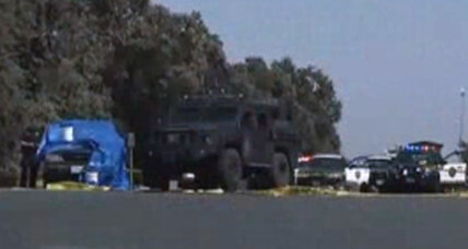 Three dead following Calif. bank robbery and police chase