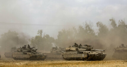 Israel ground offensive in Gaza destroys 13 cross-border tunnels