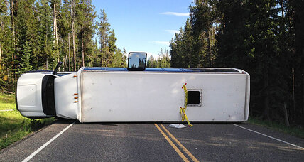 Wyoming bus crash in Grand Teton National Park