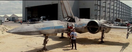 'Star Wars: Episode VII': X-wing glimpsed in a new J.J. Abrams video